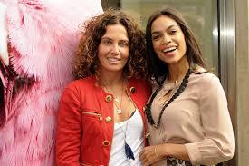 Tara Smith And Rosario Dawson Tara Smith Vegan Haircare Photo Call Kids  Shared By Greta17   Fans Share Images