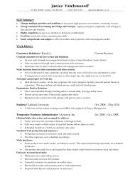Resume Summary Letter With Staff Accountant Resume Summary ...