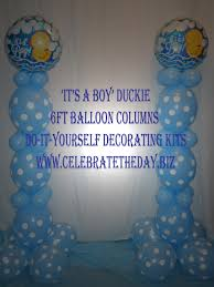 Decorate Baby Bibs Its A Boy Its A Girl Balloons Baby Shower Balloon Decoration