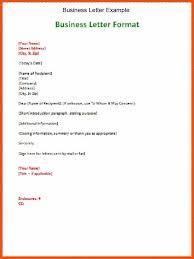 Proper Business Letter Format Business Letter Format Spacing Proper Letter Format How Many Spaces