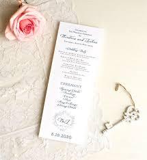 Wedding Ceremony Brochure 26 Wedding Ceremony Program Templates Psd Ai Indesign