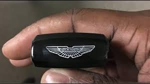 Aston Martin Has The Coolest Key Fob Youtube
