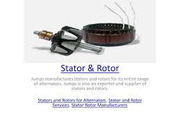ppt stator and rotor powerpoint