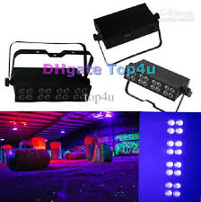 linkable via 3 pin xlr cable hanging brackets included dual brackets allowing fixture to be hung or set on the ground 4 digital led display
