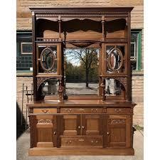 vintage antique furniture wardrobe walnut armoire. F17117 - Antique Late Victorian Mahogany Sideboard Vintage Furniture Wardrobe Walnut Armoire