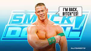 John Cena to return to WWE Smackdown on July 16