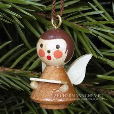 Natur Christbaumschmuck Mini Engel Weihnachtsmann