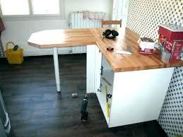 Fabriquer Table Haute Plan De Travail Lallanfr