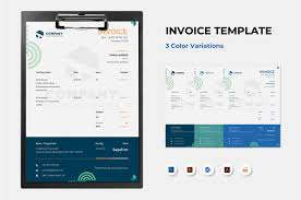 18+ Free Invoice Template Word 2010 Background