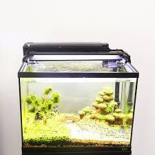Aquarium Fish Tank 3 In 1 Aquarium Kit With Glass Fish Tank Filter And Led Light Display Goldfish Mini Fish Aquarium Tank