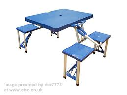 argos folding picnic table and chairs. folding table argos picnic and chairs o