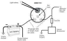 boat ammeter wiring diagram wiring diagram inside amp gauge wiring diagram 12v wiring diagrams konsult boat ammeter wiring diagram