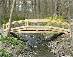 Small Picture Garden Bridges Wooden Bridge Designs Custom Wood Bridges