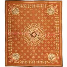 antique french aubusson rug or carpet for