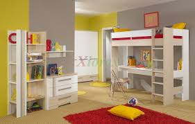 unique childrens bedroom furniture. Gorgeous Various Children Bunk Bed For Kid Bedroom Decoration : Breathtaking Yellow And Grey Unique Childrens Furniture
