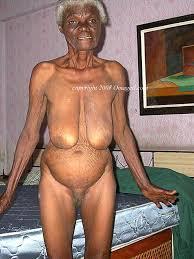 Very old black grannies pussy