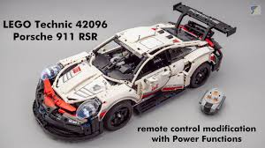 Lego Technic Power Functions Lights Lego Technic 42096 Porsche 911 Rsr Rc Mod With Power