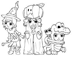 Halloween Ghost Coloring Pages | Coloring Page for Kids