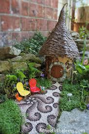 fairy gardens. Fairy Garden House By Beneaththeferns Gardens