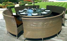rattan outdoor dining set dining table with wicker chairs amazing rattan patio dining set dining room