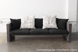 diy outdoor sofa. HomeMade Modern DIY EP70 Outdoor Sofa Options Diy T