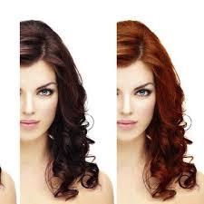 Haarfarbnuancen