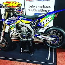 2008 Yz450f Jetting Chart We Got Another Bike Ready For Supermoto Warp9 Fmf Supermoto