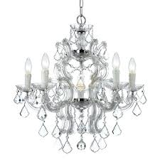 maria theresa 6 light crystal chandelier clear harrison lane