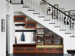 Admirable Image Storage Under Stairs Under Stairs Storage Plans Home  Furniture Ideas in Under Stair Storage