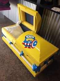 Coffin Designs Minion Childs Casket By Trey Ganem Designs Llc Www