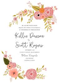 Invitation Free Templates Wedding Invitations
