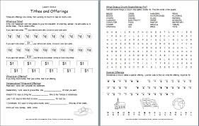 Fun Coloring Pages For Teens Printable Bible Lessons Tithes