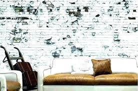interior brick wall ideas painted old