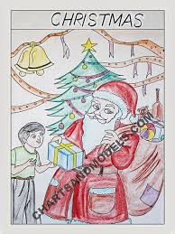 Christmas Chart Images Buy Christmas Charts Online In Delhi Get Colorful Simple