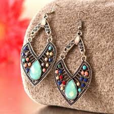 gorgeous leaf shape earrings