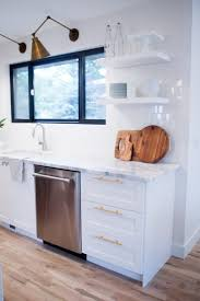 Recessed Kitchen Cabinets Diy Painting Kitchen Cabinets White Wood Cabinets With Electric
