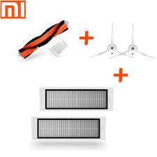 Original XIAOMI MI Robot Vacuum accessories Side <b>Brush 2pcs</b> ...