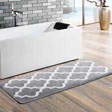 15 prodigious and comfort long bathroom rugs under 65 double sink bath mats