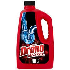 Drano Max Gel Clog Remover 80 Fl Oz Walmartcom