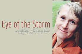 Live Streamed] Eye of the Storm Workshop with Joanna Dunn