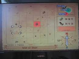 The Legend Of Zelda Wind Waker 100 Compleated Map