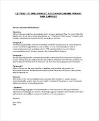 Employee Recommendation Letter Adorable 44 Examples Of Recommendation Letters