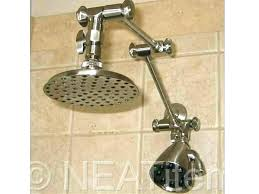 rain shower head extension arm extended shower arms shower head extension chrome rain shower wall extended