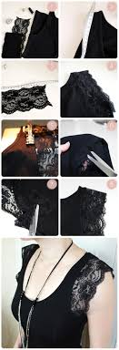 view in gallery diy lace shirt