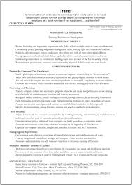 Sales Trainer Resume Sample contract trainer resume Enderrealtyparkco 1