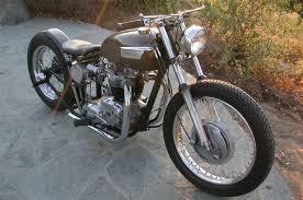 l t patterson s 1967 triumph bobber