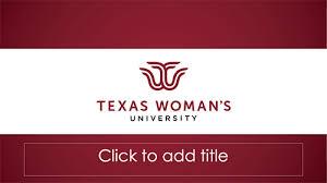 Powerpoint Templates Marketing Communication Texas Womans