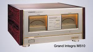 onkyo. onkyo\u0027s biggest amplifier, the grand integra m-510 onkyo