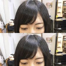 前髪の分け目が右分け左分けの印象と性格は分け方と分け目の変え方も