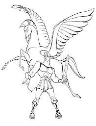 Pegasus Coloring Pages Avusturyavizesiinfo